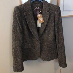 Cremieux Tweed Blazer (brand new)